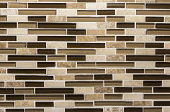 Kitchen backsplash. A nice mosaic kitchen backsplash stock images