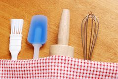 Kitchen Baking Utensils Stock Photo