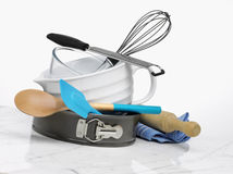 Kitchen Baking Utensils Royalty Free Stock Images