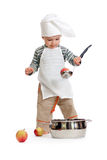 Kitchen boy Stock Photography