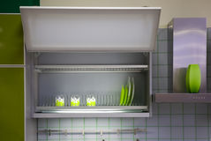 Kitchen cabinet Stock Image