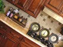 Kitchen Cabinets Royalty Free Stock Image