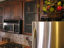 Kitchen Cabinets Royalty Free Stock Photo
