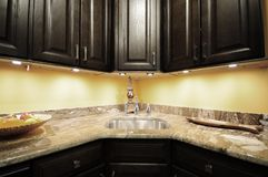 Kitchen Cabinets Royalty Free Stock Images