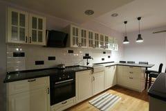 Kitchen cabinets Stock Photo