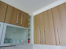 Kitchen cabinets Stock Image
