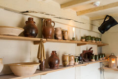 Kitchen ceramics Royalty Free Stock Photography