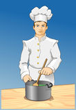 Kitchen Chef Royalty Free Stock Photo
