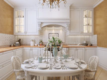 Kitchen classic style Royalty Free Stock Photography