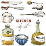 Kitchen clip art Royalty Free Stock Image