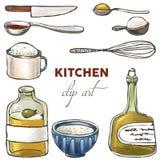 Kitchen clip art Royalty Free Stock Image