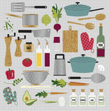 Kitchen Clipart Stock Photo