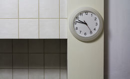 Kitchen clock Stock Images