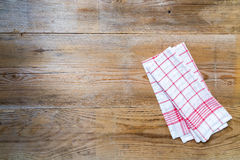 Kitchen cloth background Stock Images