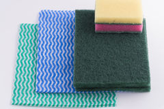 Kitchen. Cloth and wool royalty free stock photography