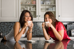 Kitchen coffee break Stock Photo