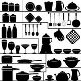 Kitchen Collection Royalty Free Stock Images
