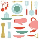 Kitchen collection Stock Images