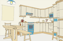 Kitchen color Royalty Free Stock Photo