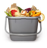 Kitchen composting bin Stock Image