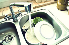 Kitchen conceptual image. Royalty Free Stock Image