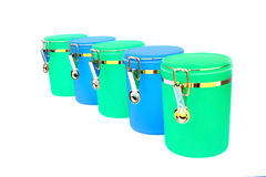 Kitchen containers Stock Images