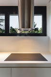 Kitchen, Cooker And Hood Stock Image