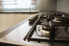 Kitchen Cooker Hob Royalty Free Stock Photography