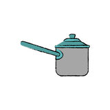 Kitchen cooker pressure. Icon  illustration graphic design Royalty Free Stock Photography