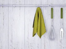Free Kitchen Cooking Utensils. Stock Photography - 45919212