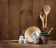 Kitchen cooking utensils. Royalty Free Stock Photo
