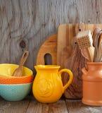 Kitchen cooking utensils Stock Photo
