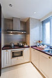 Kitchen corner. A corner in kitchen room Royalty Free Stock Photography
