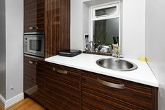 Kitchen counter top Royalty Free Stock Photography