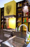 Kitchen in country style Stock Image