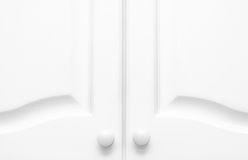 Kitchen Cupboard Doors Stock Photography