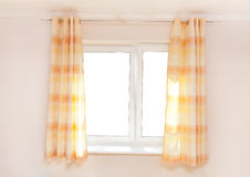 Kitchen curtain Royalty Free Stock Photography