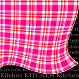 Kitchen curtain Stock Images