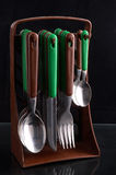 Kitchen cutlery Royalty Free Stock Photos