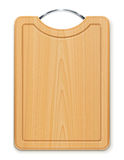 Kitchen cutting board with handle Royalty Free Stock Image