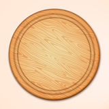 Kitchen cutting board Wood texture board illustration Stock Photos