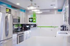 Kitchen decor. An interior designed contemporary kitchen Royalty Free Stock Photo