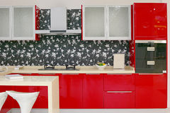 Kitchen design Stock Photos