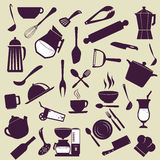 Kitchen design Royalty Free Stock Images