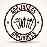 Kitchen design Royalty Free Stock Image
