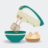 Kitchen design, vector illustration. Royalty Free Stock Photo