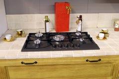 Kitchen detail stock image