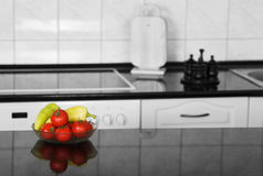 Kitchen detail. With vegetables (selective colored Stock Images
