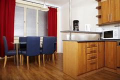 Kitchen with dinette Stock Image