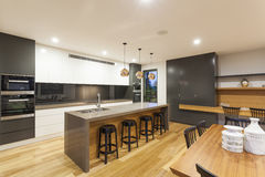 Kitchen and dining Royalty Free Stock Photo